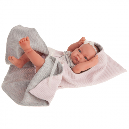 5084 Кукла Ника в розовом, 42 см