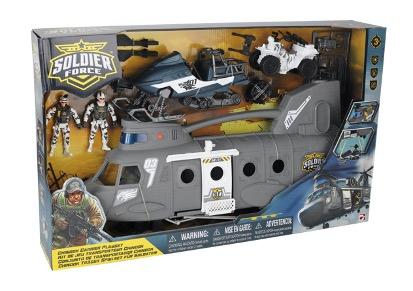 545090 Игровой набор: Десантный вертолет
