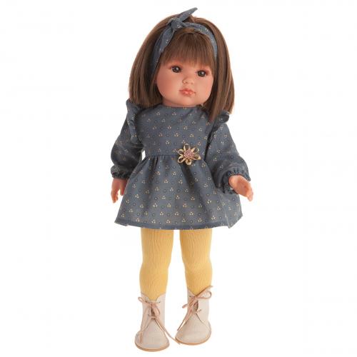 2809 Кукла Белла в синем, 45 см