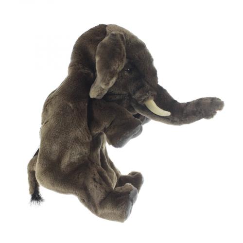 4040 Слон, игрушка на руку, 24 см