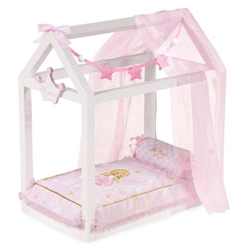 55028 Кроватка для куклы с аксессуарами серии Мария, 55 см