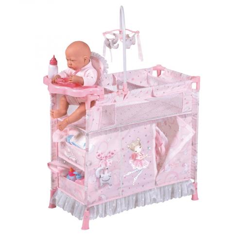 53034 Манеж-игровой центр для куклы  с аксессуарами  серии Мария, 70 см