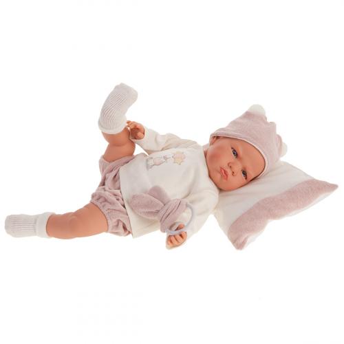 1956 Кукла Изабель в розовом, озвученная (детский лепет), 52 см