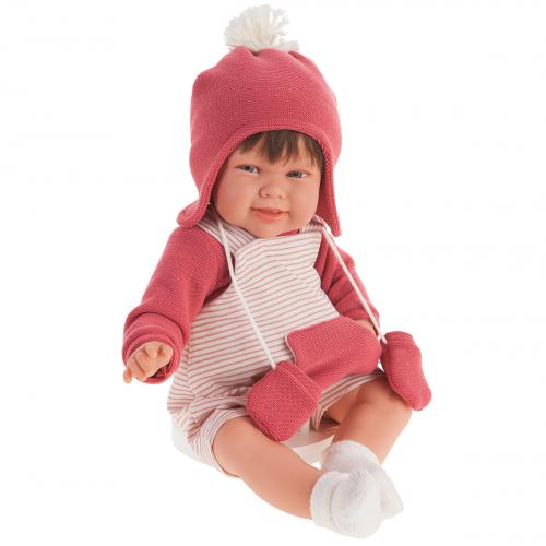 2006 Кукла Кристина в коралловом озвученная   (мама, папа, смех), 52 см