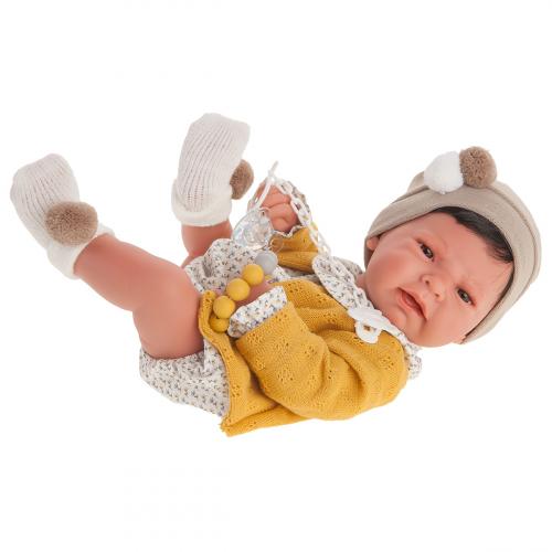 5075  Кукла Элис в желтом, 42см