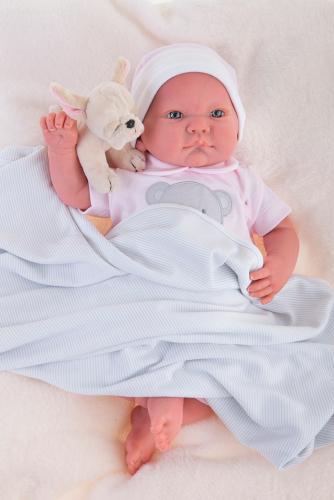 8109 Кукла Реборн младенец Ника, 40см