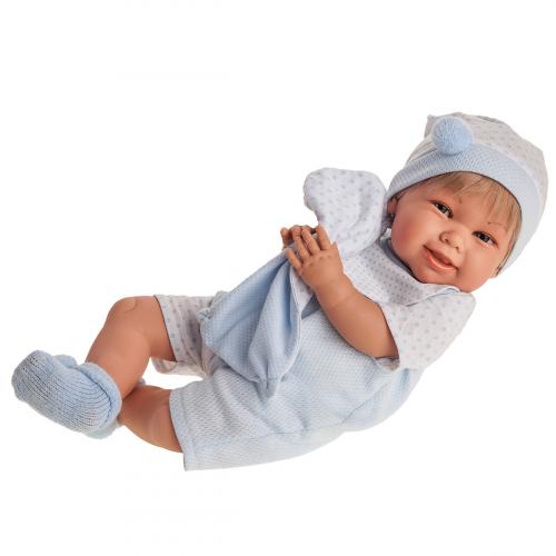 2001 Кукла Мартин в голубом, озвученная(мама, папа, смех), 52 см