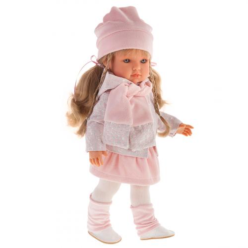 2817 Кукла Эстефания в розовом, 45 см