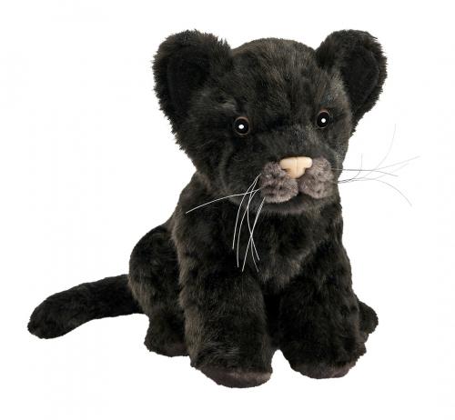 7289 Детеныш ягуара черный, 17 см