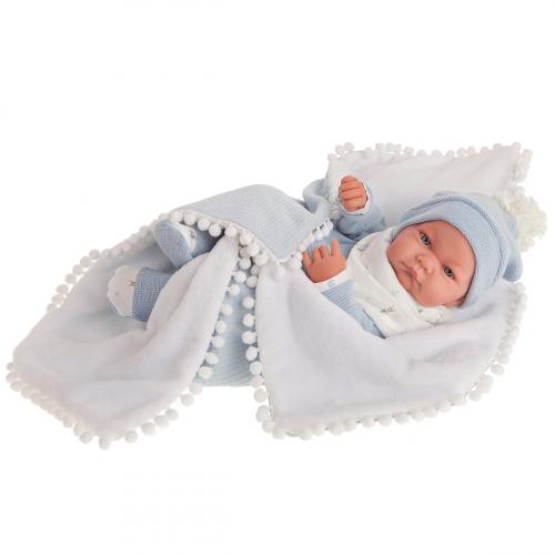 5079 Кукла Мио в голубом, 42 см