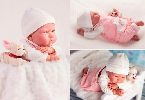 8152 Кукла Реборн младенец Рокки, 52см
