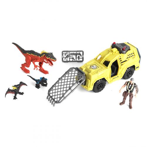 542085 Набор: Охотник на динозавра на джипе