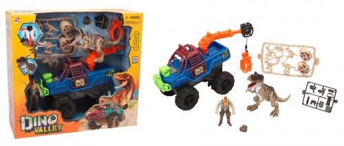 542055 Игровой набор: охотник на динозавра с грузовиком-ловушкой