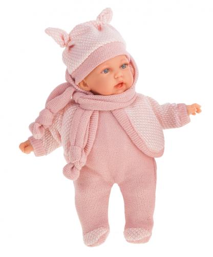 1226P Кукла Ромина в светло-розовом, озвуч., 27см