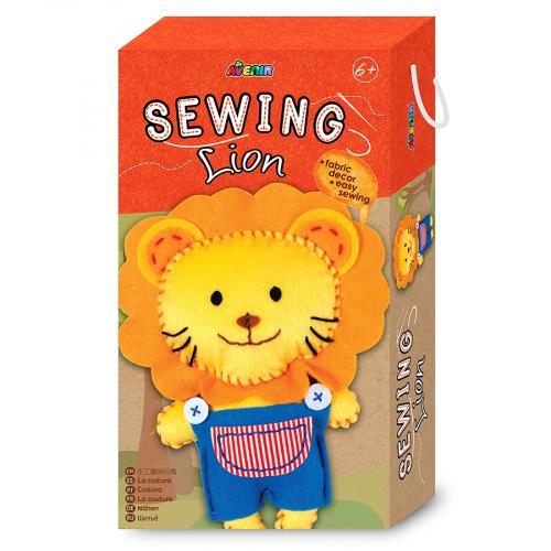 CH1372 Набор для шитья: мягкая игрушка. Лев