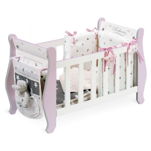 54724 Кроватка для куклы, серии Скай, 63см