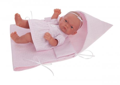 4072P кукла-младенец Алисия ,26см