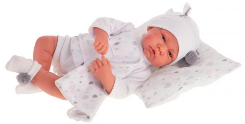 3393W Кукла Вирджиния в белом, 40 см