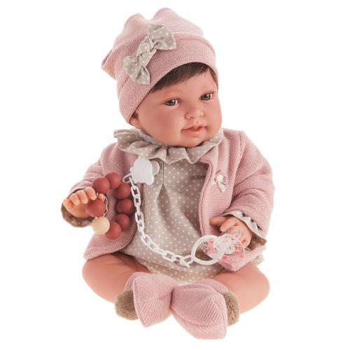 3306 Кукла Елена в розовом, 40 см