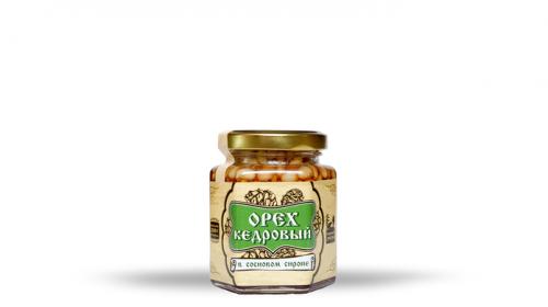 Орех кедровый в сосновом сиропе