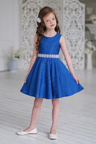Платье #248895Синий