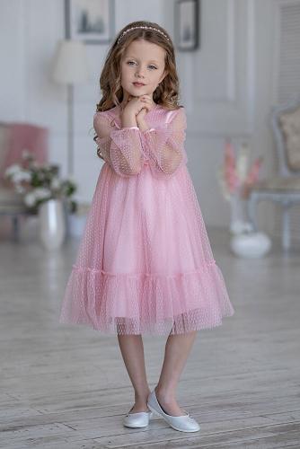 Платье #198423Фрона розовый