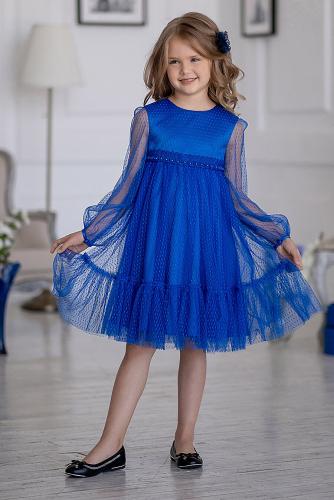 Платье #219966Фрона синий