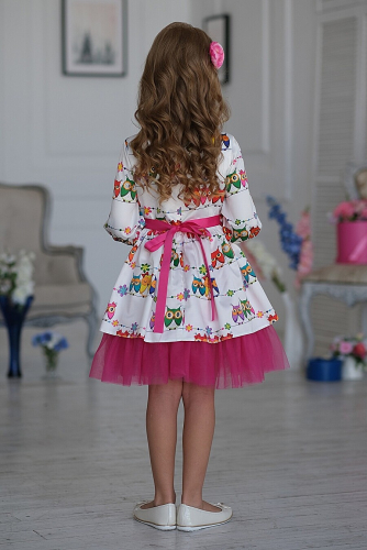 Платье #198390Синди белый