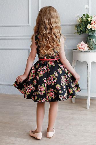 Платье #198217Либерти черный