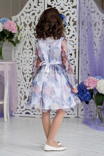 Платье #198395Сирения белый