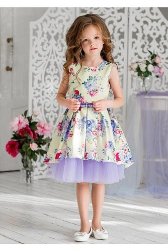 Платье #198442Элфрида ванильный