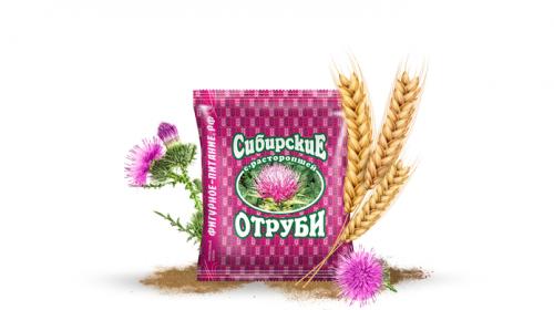 Сибирские отруби «Пшеничные» с расторопшей