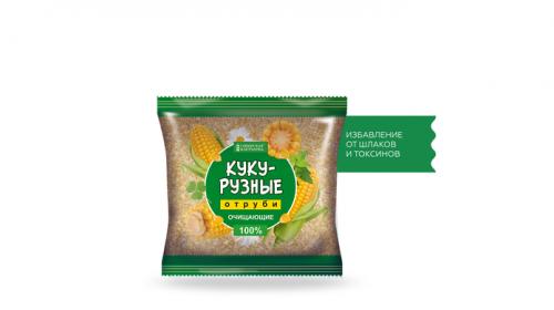 Сибирские отруби «Кукурузные» очищающие
