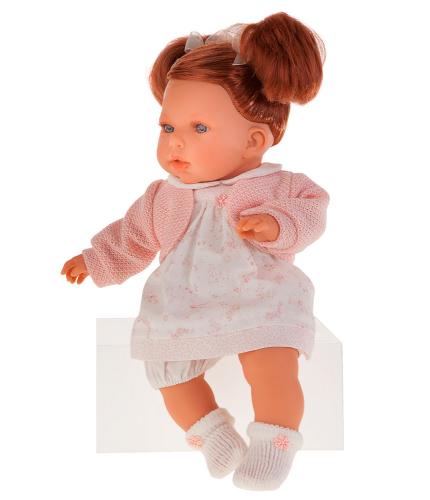 2 шт. доступно/ 1553P Кукла Тереза в розовом озвуч., 37 см