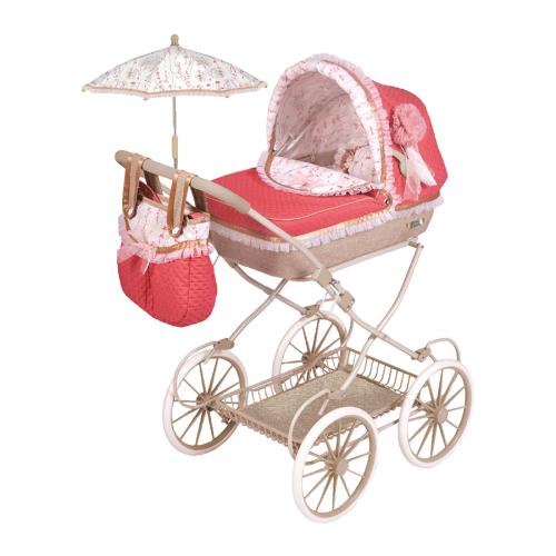 2 шт. доступно/ 81033 Коляска для куклы с сумкой и зонтиком серии Мартина, 81см