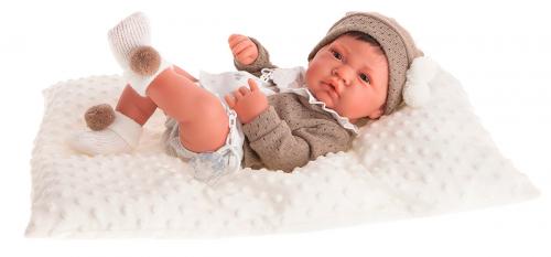 2 шт. доступно/ 5033W кукла-младенец Белен в белом, 42 см