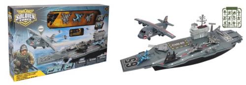 3 шт. доступно/545092 Игровой набор: Авианосец