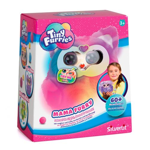 4  шт. доступно/Интерактивная игрушка Mama Tiny Furry Lime