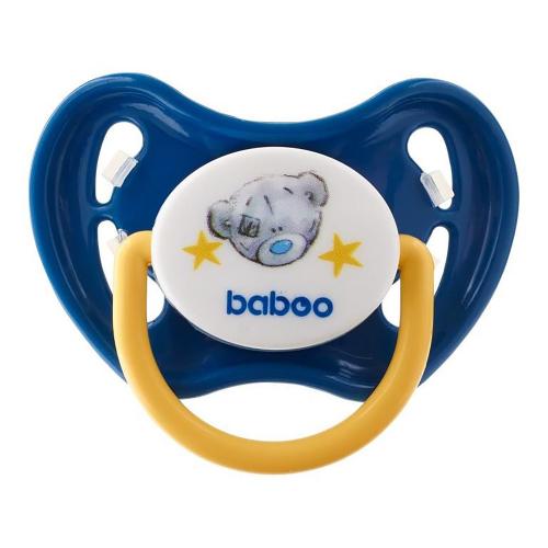 5-009 синий Соска-пустышка латекс. Me to you 6 мес+ BABOO