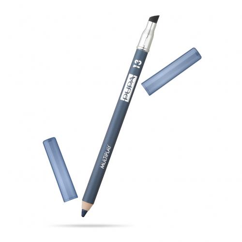 ПУПА карандаш д/глаз  МУЛЬТИПЛЭЙ т.13 серо-синий