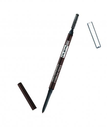 ПУПА карандаш д/бровей выкруч. HIGH DEFINITION т.001