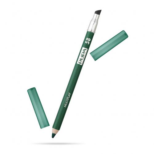 ПУПА карандаш д/глаз  МУЛЬТИПЛЭЙ т.58 спокойный зеленый
