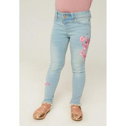 Брюки джинсовые детские для девочек Justicia темно-синий