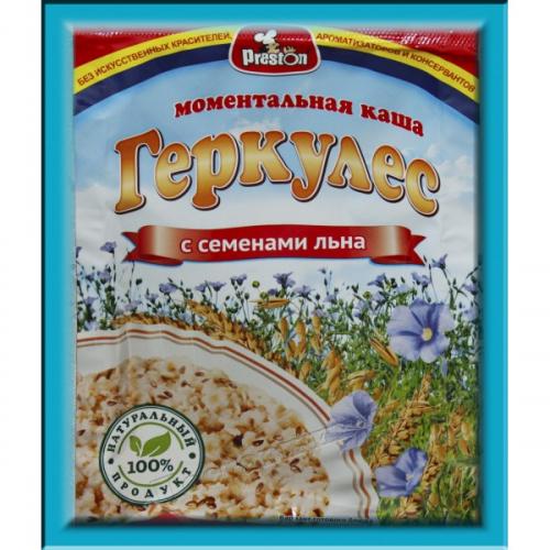 Моментальная Каша Геркулес с семенами  37 гр