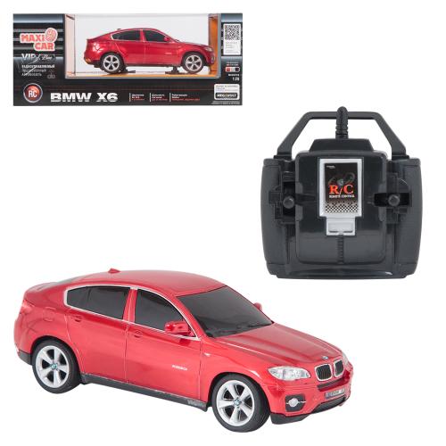 Машина на радиоуправлении Maxi Car Maxi Car на радиоуправлении BMW X6, в ассортименте 1 : 28