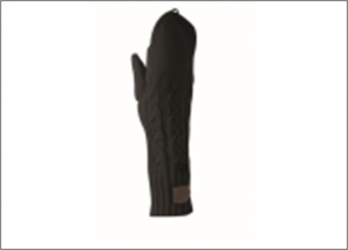 878р. 3190р. NIKE CHUNKY CABLE KNIT GLOVES, (001) чер