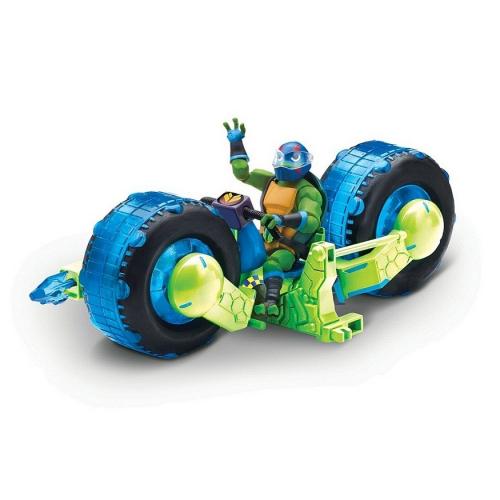 Мотоцикл с фигуркой Лео, серия ROTMNT