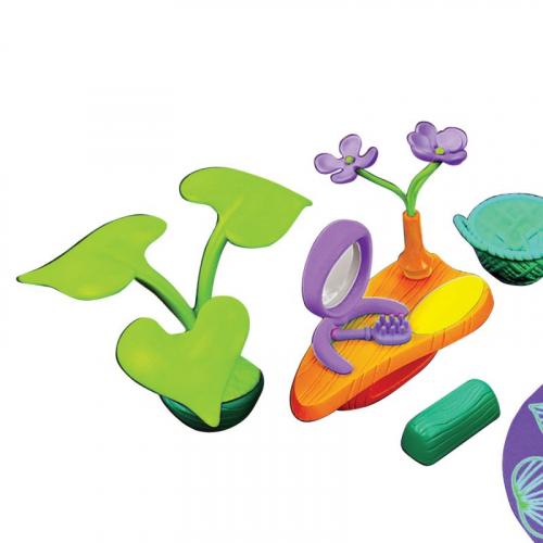 Набор аксессуаров для спальной комнаты (с фиолетовым ковром)