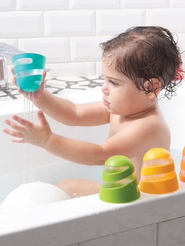 (577) Набор игрушек стаканчиков для ванны