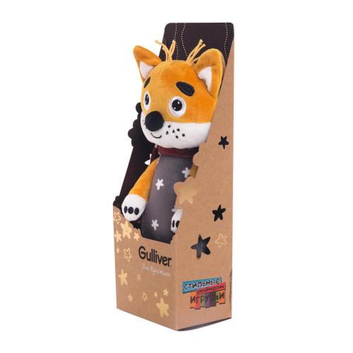 Лис Кристиан, 30 см в картонной коробке